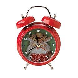 Mark Feldstein Wacky Wakers Cowboy Kitty Alarm Clock