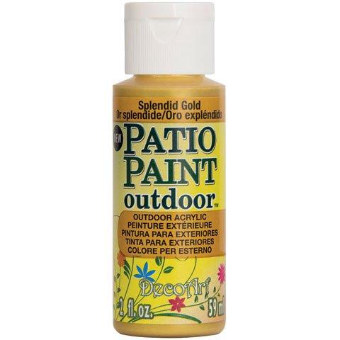 Paint Terra Cotta - DecoArt Patio Paint, 2-Ounce, Terra Cotta
