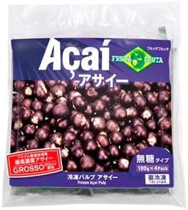 【2ケース販売】フルッタフルッタ 冷凍アサイーパルプ 400g×30袋