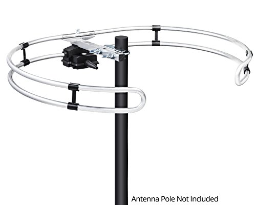 ViewTV VT-FM20 Outdoor Omnidirectional DAB/FM Antenna - 80 Miles Range by ViewTV