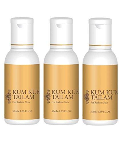 Trichup Kum Kumadi Tailam Pack Of 3 50 - Iii Rosacea Ltd