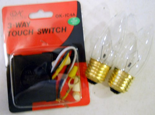Touch Lamp Repair Kit for OK Lighting 14 Inch Lamps on