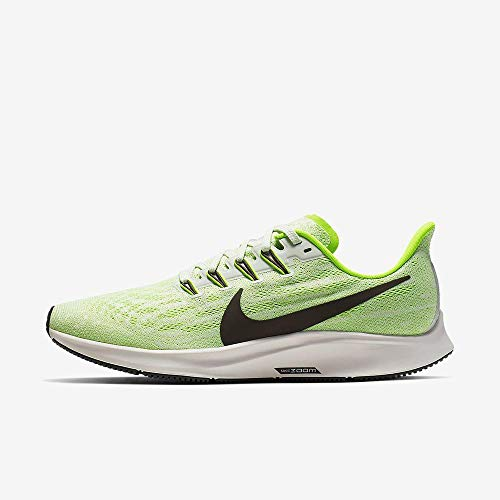 Nike Men's Air Zoom Pegasus 36 Running Shoe Phantom/Electric Green/Moon Particle/Ridgerock 11.5