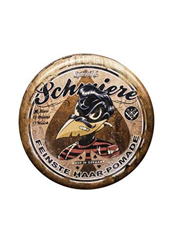 Rumble 59 Schmiere Special Edition Poker Strong Hold Oil Based Pomade 4.7oz