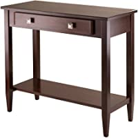 Richmond Hall Console Table, Antique Walnut