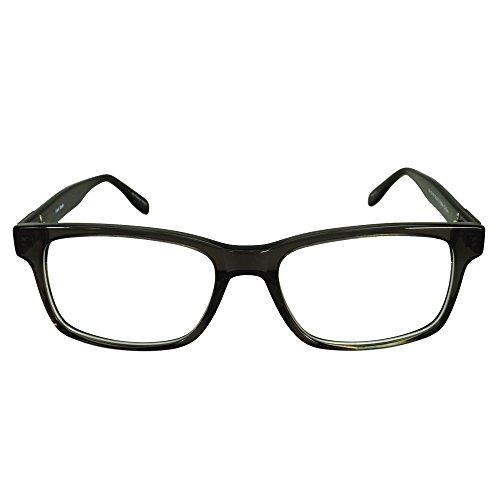 49a253b9727 Amazon.com  Mens Strong Glasses Frames Prescription Eyeglasses Rxable 55-18- 145-37 in Gunmetal  Clothing