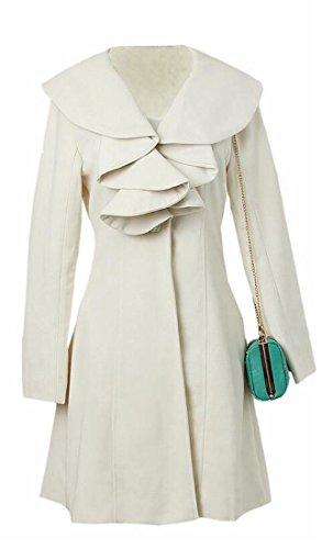 Wool Ruffle Jacket - 4