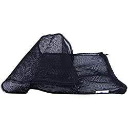 SODIAL(R) Tank Fish Mesh Isolation Breeding Fry Breeder Net Bag