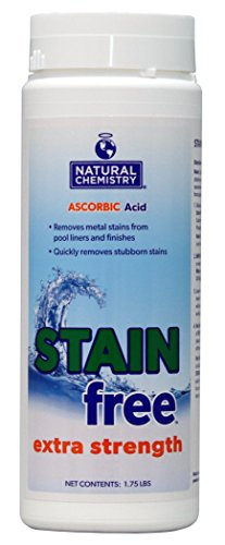 Natural Chemistry 07395  Extra Strength Stain Free, 1-3/4-Pound (Best Algaecide For Gunite Pools)