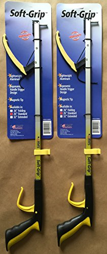 RMS Soft-Grip™ Reacher Grabber with Orthopedic Handle 2-Pack (26-inch) ()