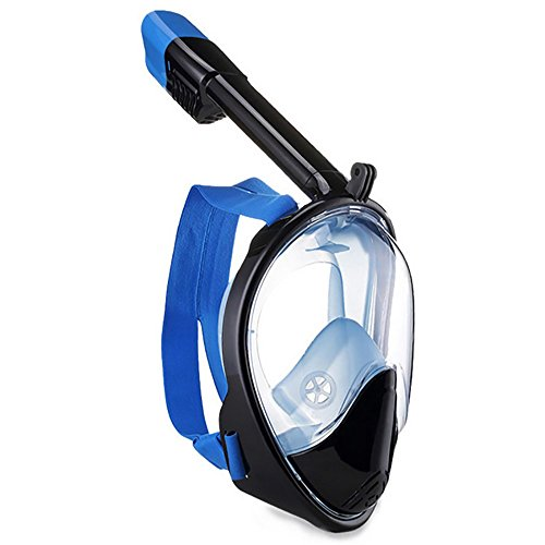 180 Full Face Snorkel Mask with GoPro Compatible holder