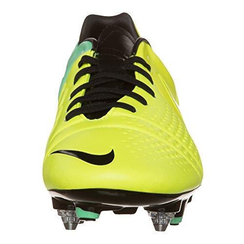 Nike - Botas de fútbol para hombre NOIR/JAUNE/VERT amarillo Talla:45 - amarillo