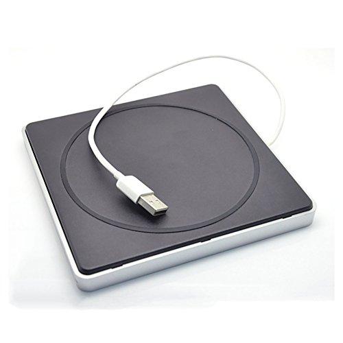 YP DVD/CD Burner External Slot-in Drive DVD VCD CD RW Player Burner Superdrive for Apple Macbook Pro Air iMAC by YP (Image #2)