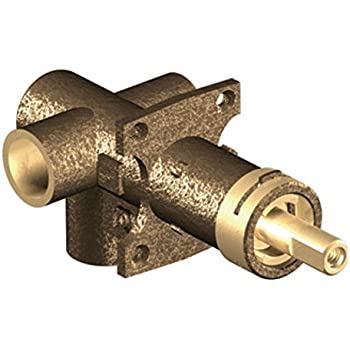 Moen 3375 M-Pact Brass Transfer Valve, Two Independent Functions,1/2-Inch CC Connection
