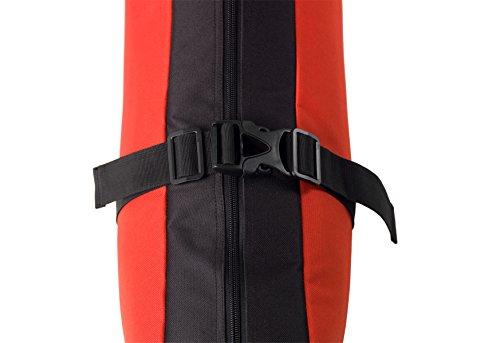 Athletico Mogul Padded Ski Bag Fully Padded Single Ski Travel Bag Fits Skis Up 170 cm