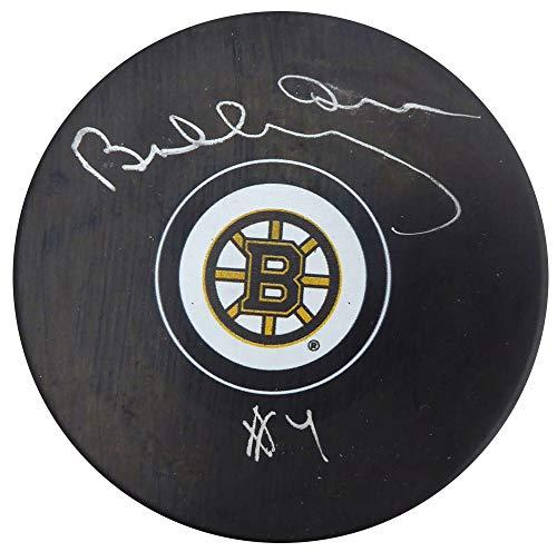 - Bobby Orr Autographed Boston Bruins Hockey Puck Beckett BAS #F98264
