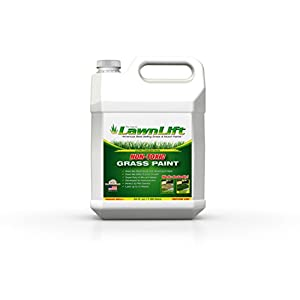 Lawnlift Grass and Mulch Paints Ultra Concentrated Grass Paint, 64 oz, Green