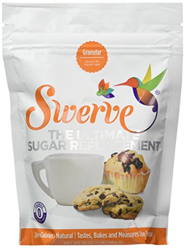 Swerve Sweetener, Granular, 16oz (Pack of 2)