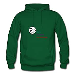 Stewglov Comfortable Green Regular Personalized X-large Women Born To Count My Blessings Hoody