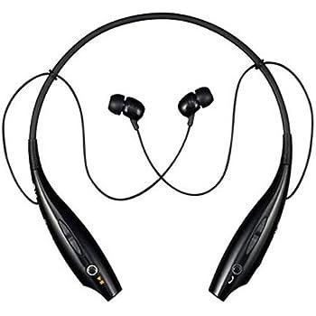 LG Tone Wireless Bluetooth Stereo Headset - Retail Packaging - Black/Orange