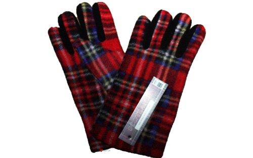 Ladies Plaid Gloves Royal Stewart product image