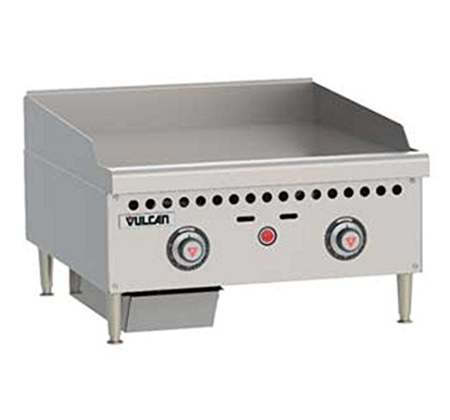 Vulcan VCRG24-T 24'' Countertop Griddle w/ Thermostatic Controls