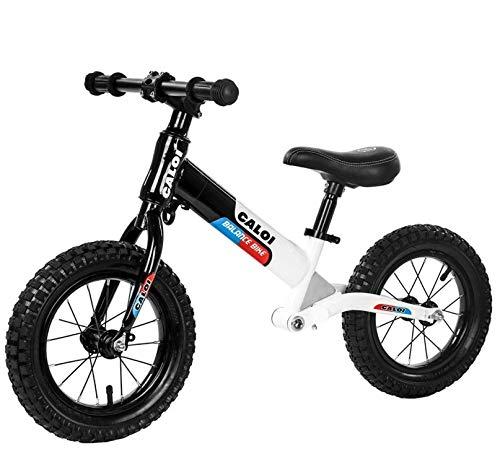 LYgMV 子供用レースカーバランスカースライドカー238歳の子供用おもちゃヨーヨー車ペダル無し自転車  ブラック B07QJBQ64K