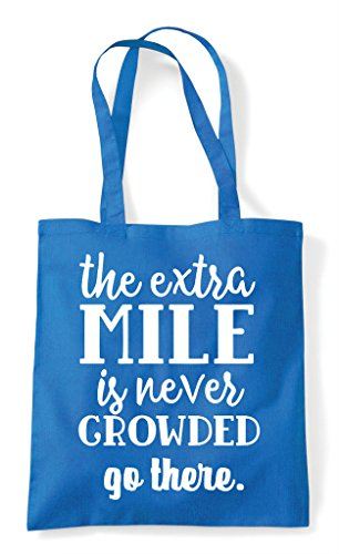 Sapphire Tote Crowded Is Statement Mile Extra There Bag Go Shopper The Never qZPOOw