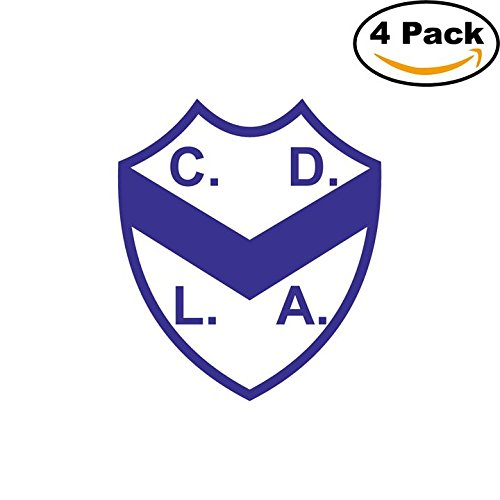 fan products of Club Deportivo La Armonia de Bahia Blanca Argentina Soccer Football Club FC 4 Stickers Car Bumper Window Sticker Decal 4X4