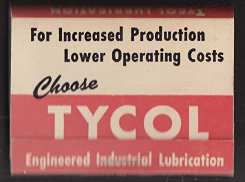 Tycol Industrial Lubricants golf tee set Tide Water Associated Oil Co 1950s