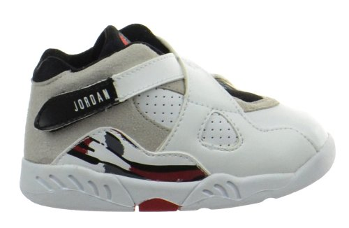 official photos fc122 2b565 Jordan 8 Retro (TD) Baby Toddlers Shoes White/Black-True Red
