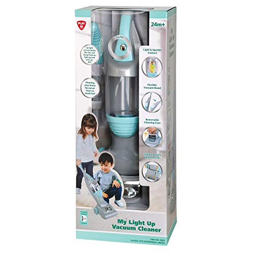 PlayGo My Light Up Vacuum Cleaner ~ Mint/Gray