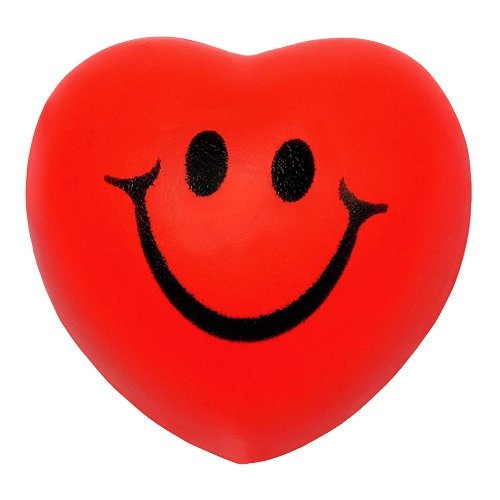 Smile Face Squeeze Heart - Shaped Face
