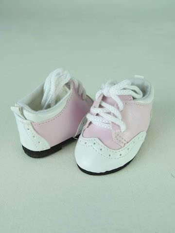 "**SALE** PINK /& GRAY Saddle Oxfords DOLL SHOES fits 18/"" AMERICAN GIRL Doll"