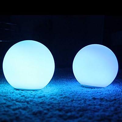 Calvas BTL-301W PLAYBULB Sphere Smart LED Night Light Smartphone APP Controlled Color Changing Lights Dimmable Glass Orb Decorative Lamp - Decorative Smart Creative Lights