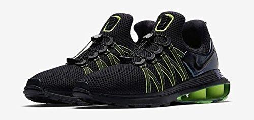 Nike Shox Zwaartekracht Heren Ar1999-003 Zwart / Zwart-groen Kloof-hot Lime