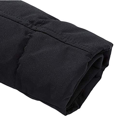 Coat Capuche Noir noir Veste Homme Doudoune Soldes Casual Manteaux overdose Hiver C Hoodie À Longue Jacket qOtUwF