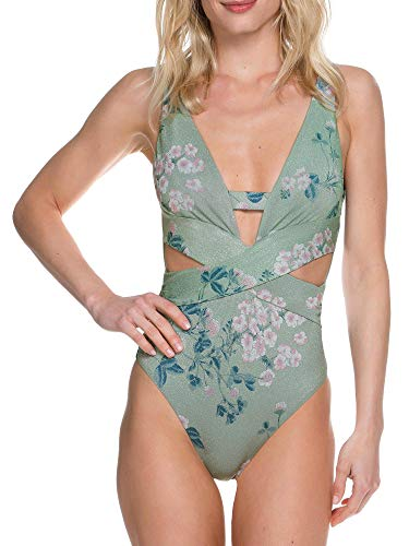 Becca-by-Rebecca-Virtue-Womens-Serene-One-Piece-Plunge-Swimsuit