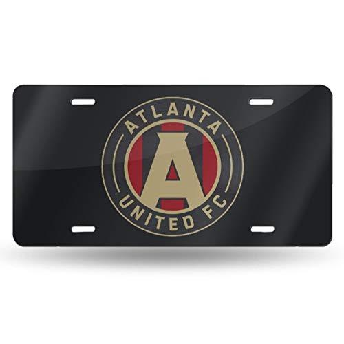 United License Plate - IUSGWY SWJI Atlanta United Racer Custom Metal License Plate for Car 6