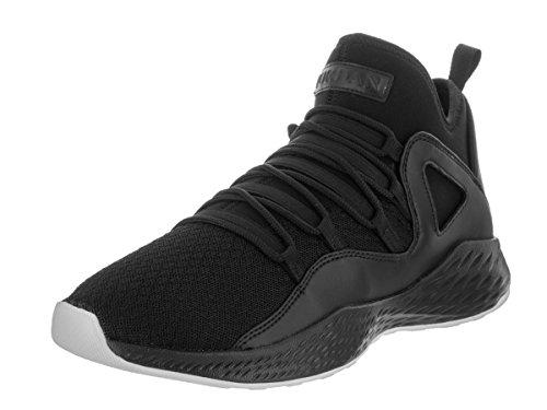 Jordan Mens Formula 23 Black Black White Size 9