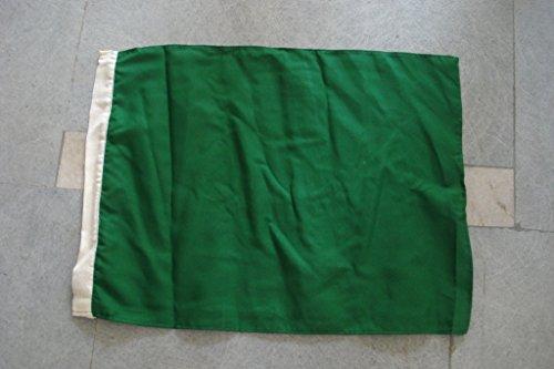 """Green Flag - The Flags of Nascar - Racing Flag - 14"""" X 18"""" – Car Race Flag - Sports Car Race (5105)"""