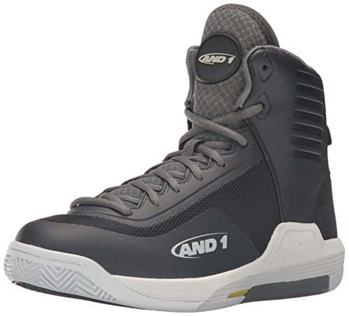 AND1 AND 1 Men's Reaper-M Basketball Shoe - Black/Gunmeta...