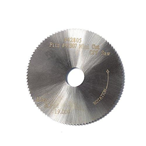5pcs 2 inch/50x10x 0.8mm, 100 Teeth High speed steel circular saw blade for mini cut off saw #42307 #42805