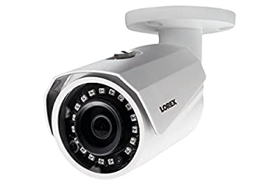 Lorex LBV4711B 4MP SuperHD Weatherproof 150FT Night-Vision MPX IR Bullet Security Camera by Lorex By Flir