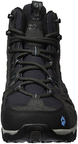 Vojo Mid Texapore Sky Boots Grey Jack Hike Hiking Light High Wasserdicht Rise Wolfskin Women's Women Sgxwn5