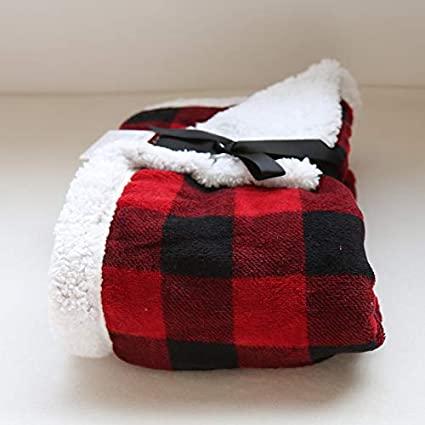 Amazon.com  FOREVER-YOU Double Thick Small Blanket Women s Singles ... 6ac329d9c0