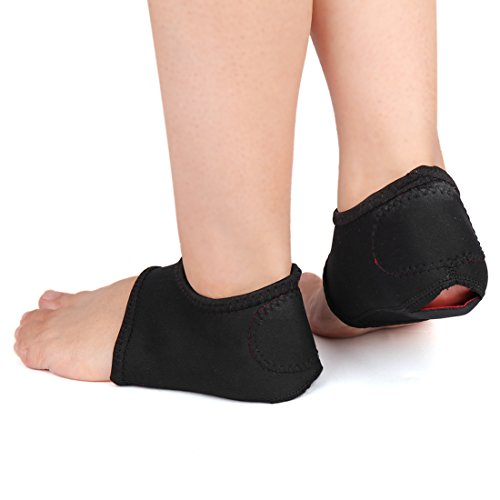 uxcell® Plantar Fasciitis Wrap Heel Arch Support Sleeve Cus