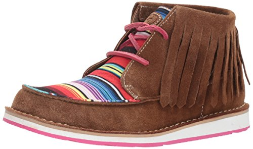 Suede Boot Fringe Cruiser Women's Dark Work Ariat Brown q0A84w4x
