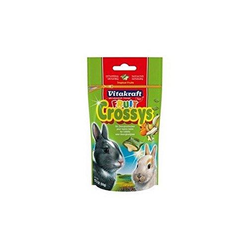 (Vitakraft Fruit Crossys Rabbit Treats (50g))