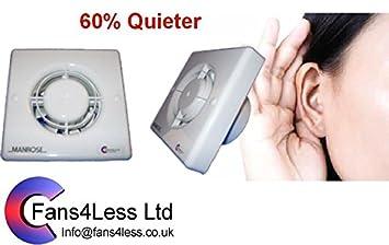 Abzugshaube Badezimmer | Manrose Qf100 Timer Std Hygrostat Pulcord Abzugshaube Badezimmer